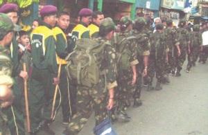 GLP cadres on patrol