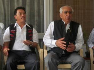 Jaswant Singh and Bimal Gurung