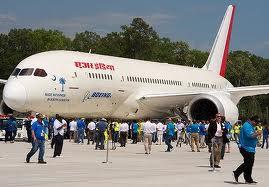 Boeing B-787 aircrat