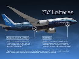 Boeing B-787 battery system
