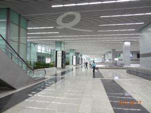 NSC Bose Airport new passenger terminal arrival lounge