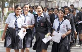 Students celebrate exam result