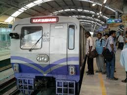 Kolkata Metro AC rake