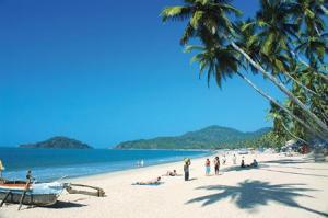 A sea beach in Goa