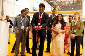 WB Tourism Department secretary A R Bardhan inaugurating the West Bengal Pavilion at the World Tourism Market at London, 4-7 Nov 2013