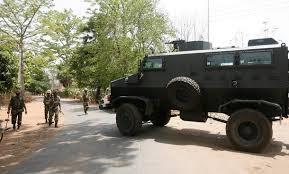 Anti-landmine vehicle