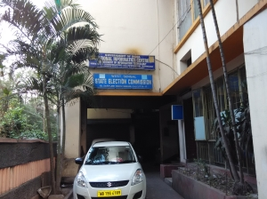 West Bengal State Election Commission office on Rawdon Street in Kolkata.