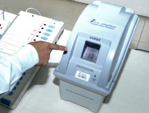ELUSIVE: File photo of a VVPAT machine.