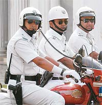 A Kolkata Police team. File photo.
