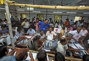 File photo of a counting centre.
