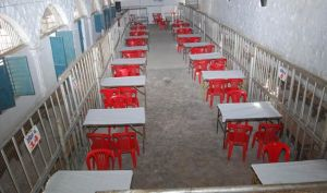 ALL SET: A counting centre. File photo.