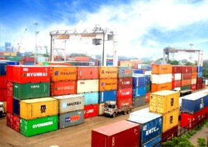 Cargo containers at Kolkata Dock. File photo.