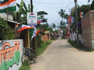 Battle Ready: At Kamalgaji in Rajpur-Sonarpur Municipality in South 24-Parganas.