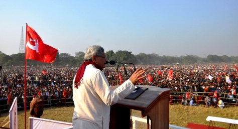 CPM Yechuri at Brigade plenum rally