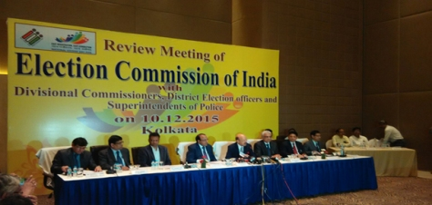 Election Commission Kolkata review meet