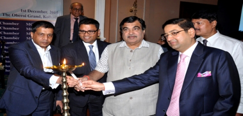 Nitin Gadkari at MCC event